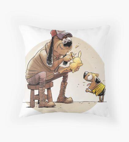Pikachu pet Throw Pillow