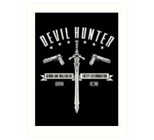 Devil Hunter Art Print