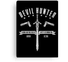 Devil Hunter Canvas Print