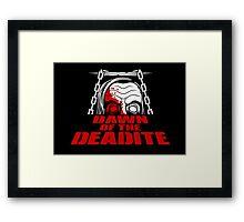 Dawn of the Deadite Framed Print