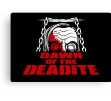 Dawn of the Deadite Canvas Print