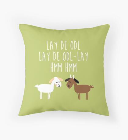 Sound of music goat herd Throw Pillow