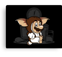 It's-a me, Gizmo! Canvas Print