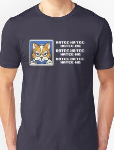 What Does Fox McCloud Say? Unisex T-Shirt