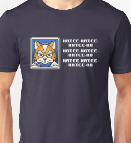 What Does Fox McCloud Say? Unisex T-Shirt