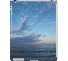 Pale Blues and Feathery Clouds in the Fading Light iPad Case/Skin