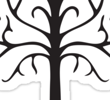 Tree of gondor, lord of the rings  Sticker