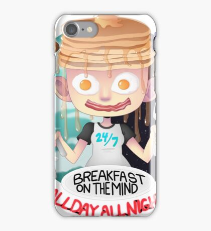 Breakfast on the Mind iPhone Case/Skin