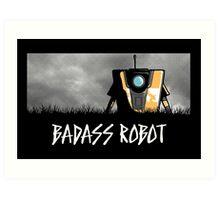 Badass Robot Art Print