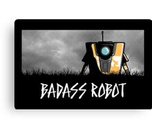 Badass Robot Canvas Print