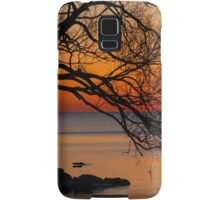 Colorful Quiet Sunrise on the Lake  Samsung Galaxy Case/Skin