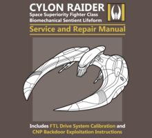 Cylon Raider Service and Repair Manual Kids Clothes