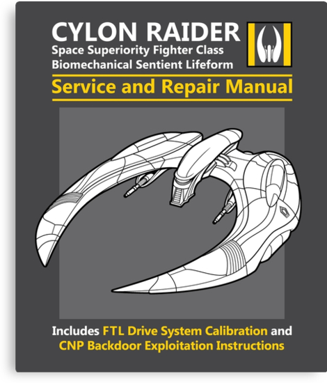 Cylon Raider Service and Repair Manual by Adho1982