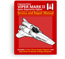 Viper Mark II Service and Repair Manual Canvas Print