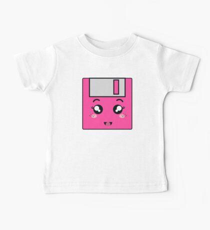 Pink storage Baby Tee