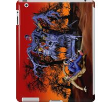 Weird Cursed British blue Phone box Monster iPad Case/Skin