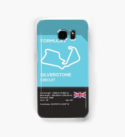 Silverstone circuit Samsung Galaxy Case/Skin