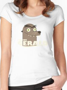 find gerald Women's Fitted Scoop T-Shirt
