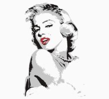 Marilyn Monroe 3 colour by trev4000
