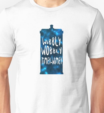 Doctor Who - Wibbly Wobbly TARDIS Unisex T-Shirt