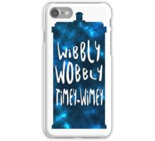 Doctor Who - Wibbly Wobbly TARDIS iPhone Case/Skin