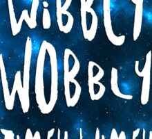 Doctor Who - Wibbly Wobbly TARDIS Sticker