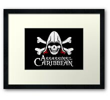 Assassins of the Caribbean Framed Print