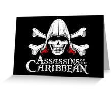 Assassins of the Caribbean Greeting Card