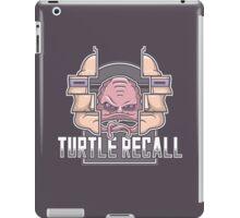 Turtle Recall iPad Case/Skin