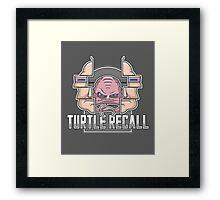 Turtle Recall Framed Print