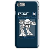 ED-209 Service and Repair Manual iPhone Case/Skin