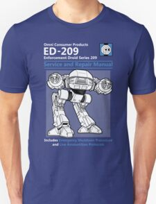 ED-209 Service and Repair Manual T-Shirt
