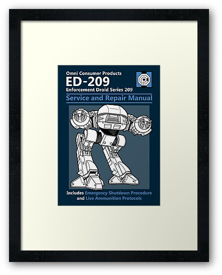 ED-209 Service and Repair Manual by Adho1982