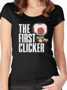 The First Clicker Women's Fitted Scoop T-Shirt
