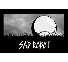 Sad Robot Photographic Print