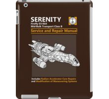 Shiny Service and Repair Manual iPad Case/Skin
