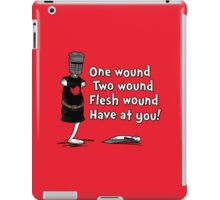 One Wound, Two Wound iPad Case/Skin
