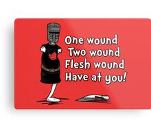 One Wound, Two Wound Metal Print