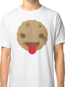 Cookie Emoji Tongue Out Classic T-Shirt