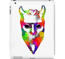NAMELESS GHOUL - paint splotch oil paint iPad Case/Skin