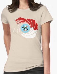 The Man with the Golden Zapper Womens Fitted T-Shirt