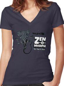Zen-o-morph Women's Fitted V-Neck T-Shirt