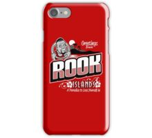 Greetings from Rook Islands iPhone Case/Skin