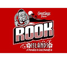 Greetings from Rook Islands Photographic Print