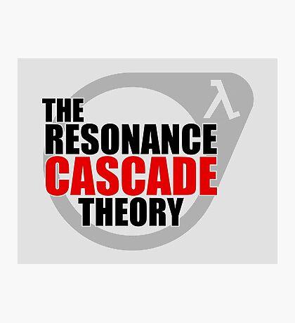 The Resonance Cascade Theory Photographic Print