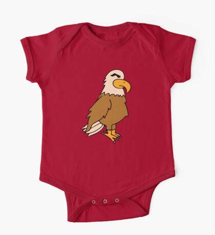 Bald Eagle Oil Painting One Piece - Short Sleeve