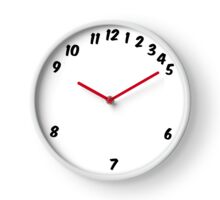 Working Hours Adjusted Clock Clock