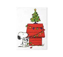 Christmas snoopy lights Gallery Board