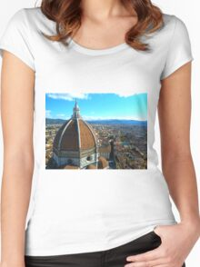 florence, italy Women's Fitted Scoop T-Shirt