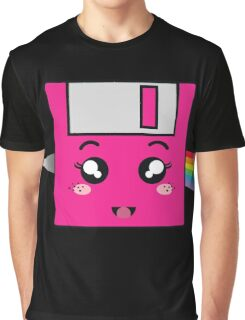 Pink floppy Graphic T-Shirt